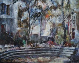 Silent Yard - Sense of an Afternoon by raysheaf