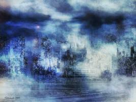 Blue Fog by raysheaf
