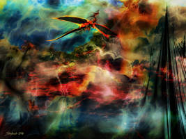 Dragon Realms VI by raysheaf