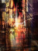 The City Rhythm II by raysheaf