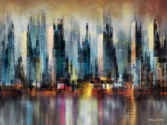 Urban Morning by raysheaf