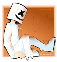 Melting Marshmello by Ask-AliceGF