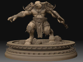 Warcraft Tauren by NeoGeoAes