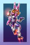 Hell Bunny - mecha musume 05 by digitalart69