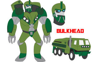 Transformers Neo - BULKHEAD by Daizua123