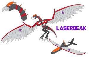 Transformers Neo - LASERBEAK by Daizua123
