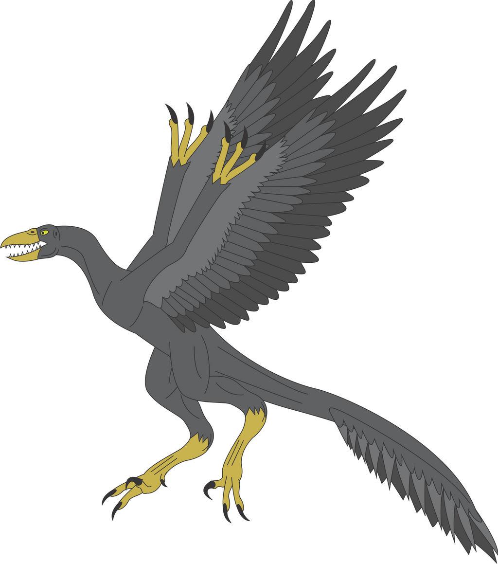 Prehistoric World - Archaeopteryx by Daizua123 on DeviantArt