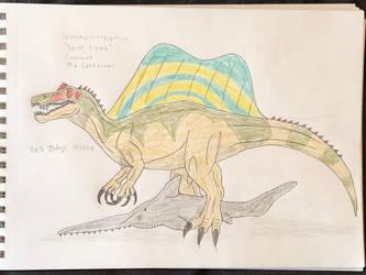 Dinovember 2018 - 25 - Spinosaurus by Daizua123