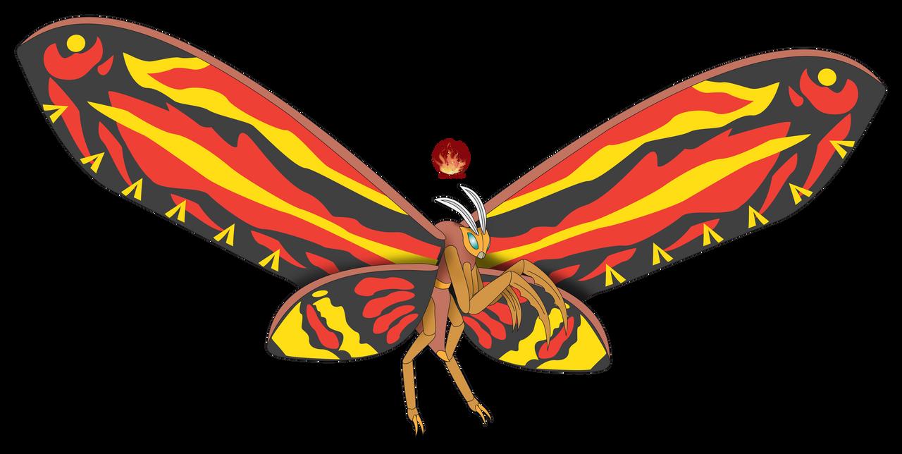 Legendary Mothra 2019 by Daizua123 on DeviantArt