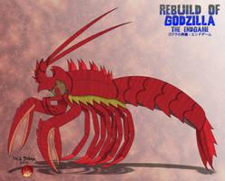 Rebuild of Endgame - EBIRAH by Daizua123