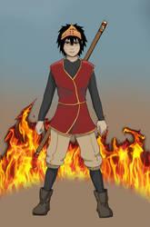 Furi Character Concept by XelaMental