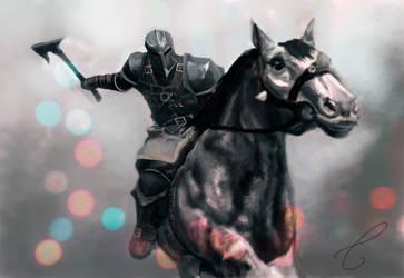 Rider by BluishDreams
