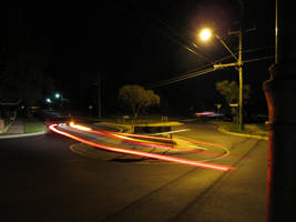 Suburban Night - Streaker by nitemice