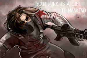 The Winter Soldier by ArsonAnthemKJ