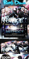 Battle Dance Flyer Template by prassetyo