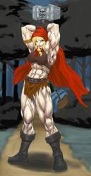 FFT: Barbarian Hood by Higalack