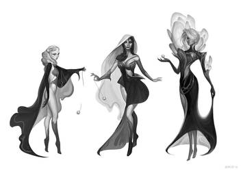 The Fates by JeanLeeArt