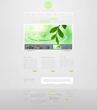 Minimal Web Layout by krisyay