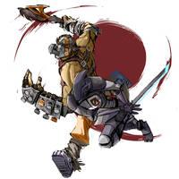 BL2 Krieg and Zer0 by Atenovx