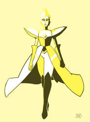 Steven Universe: Yellow Diamond by Atenovx