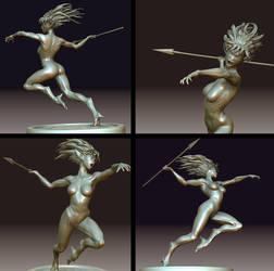 Huntress by I-GUYJIN-I