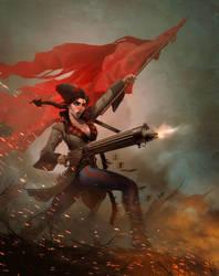 Anka the Machinegunner by I-GUYJIN-I