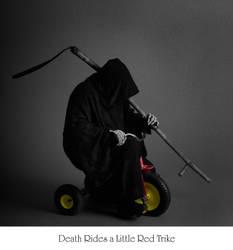 Death Rides ... a Red Trike by mjranum