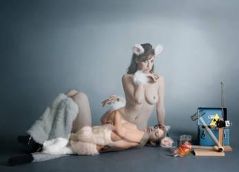 Schrodinger's Catgirl by mjranum