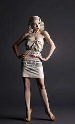 Vintage: Flour Sack by mjranum