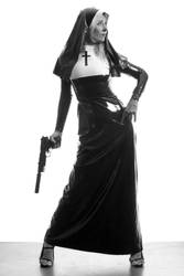 Sister Mary WhupAss by mjranum