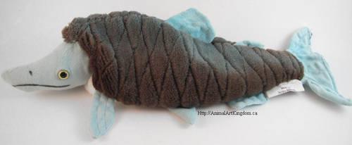 Prehistoric Salmon Beanie Plush by AnimalArtKingdom