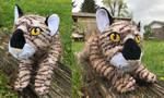 20in Floppy Tiger Handmade Plush by AnimalArtKingdom