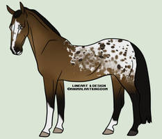 Bay Spotted Blanket Adopt (OPEN) by AnimalArtKingdom