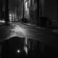 Alley on a Foggy Night by jheintz21
