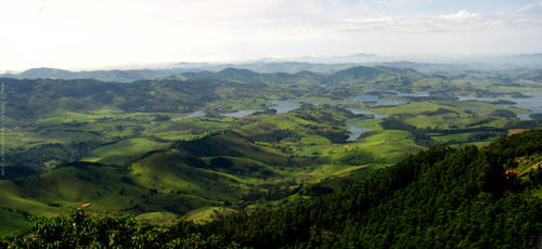 Green Mountains by TJShots