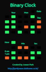 Radium Clock Webapp (Binary Ver.) by The-Dreaming-Boy-88
