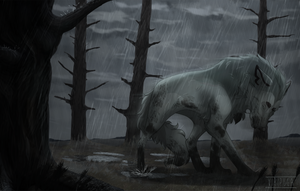 Here Comes The Rain Again by viripuga