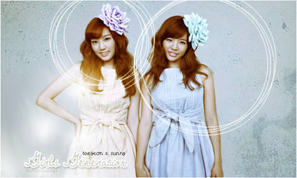Taeyeon and Sunny by HotaruUsagi
