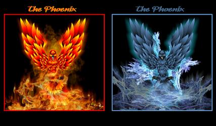 Twin Phoenixs by Maverick22