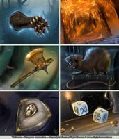 Talisman - Dungeon expansion by Shockbolt