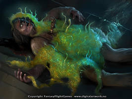 Slime mold - Call of Cthulhu by Shockbolt