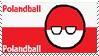 Polandball Stamp Small by PixelDevianArt