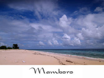 cloud on mamboro beach by yoxx
