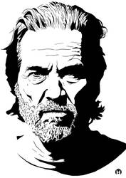 Jeff Bridges by manuelgarcia