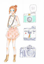 Cameras by kilari-chan