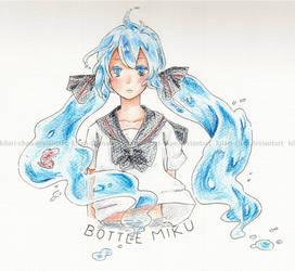 Bottle Miku by kilari-chan