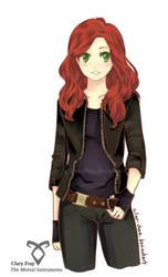 Clary Fray - The Mortal Instruments by kilari-chan