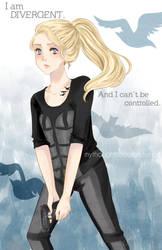 Tris - Divergent by kilari-chan