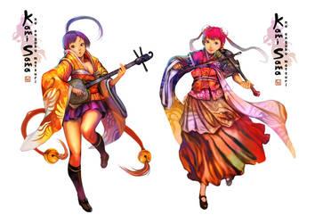 Rin,Mei Ying by DigitalOme