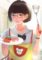 Breakfast? by DigitalOme